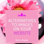 Alternatives to website images