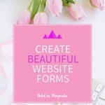 Create beatiful website forms