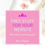 Free stuff for your website