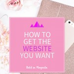 How to get the website you want