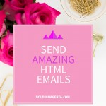 Send amazing HTML emails
